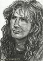 Dave Mustaine by SavanasArt