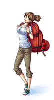 Backpacker by monorus