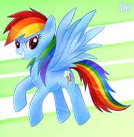 Rainbow Dash: Kesetiaan by Mn27
