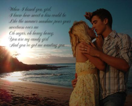 When I kissed you, girl by Sarnika