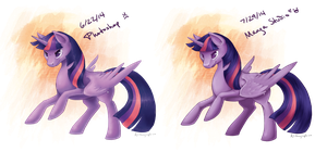 Twilight - Manga Studio v Photoshop by Alithographica
