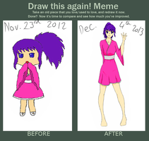 Before and after meme by kirstleberry