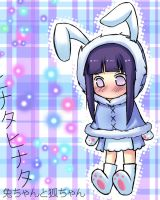 Hinata the Bunny by MiseryLolita