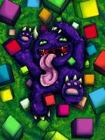 Cube Eater by Kampfkewob