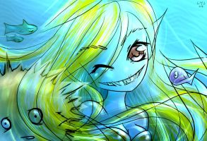 Mermaid Smile by KatiraMoon