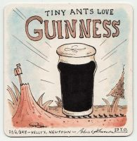 Coaster 28: Guinness by zpxlng