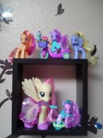 My Little Pony Collection FIM , G4   Pic # 1 by Amyatpebble