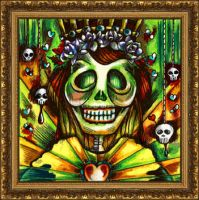 Posada's Queen of Hearts by spookyspittle