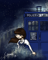 Miss Smith and the Time Machine by gnasler