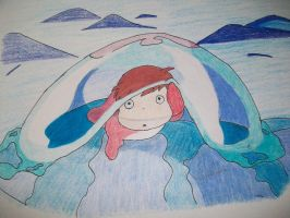 1st Attempt Ponyo by KellyCurly