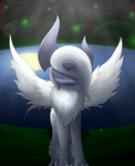Wet Mega Absol by bsh0404