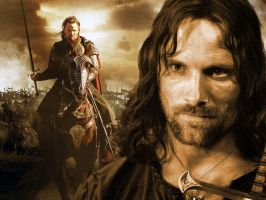 Aragorn Wallpaper by Jedijosh44