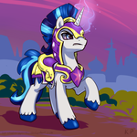 Speedpaint 34 - Shining Armor by KP-ShadowSquirrel