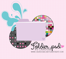 Folder .psd - By, Candush by Candush