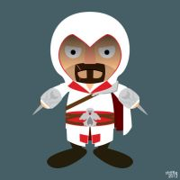 Commission: Ezio Auditore by striffle