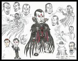 My take on Mr Sinister by devilkais