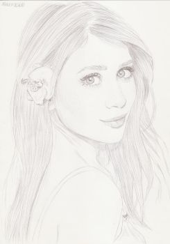 Ashley Olsen 8 by crayon2papier