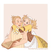 Lissa and Rob by Fufu-the-maniac