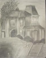 Norman Bates' House by naboobabe