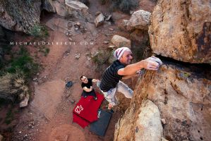 Bouldering Finish by michael-dalberti