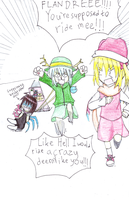 the crazy reindeer, and the master by pengguchan