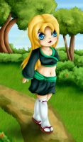 Commission: Chibi Azusa by Lady-of-Link