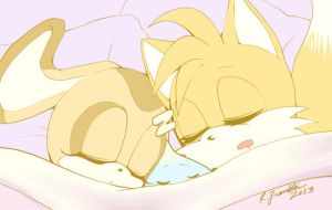 Tails x Cream: Nappy-Time by Ceramir