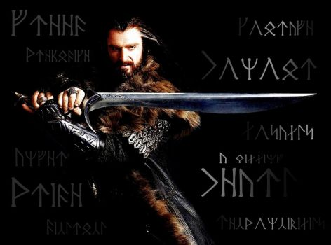 MME #11: Thorin Oakenshield: Dark/BrightSide CIRTH by PeckishOwl
