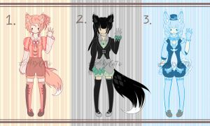 Foxy Business Adoptables (CLOSED) by GloryCat
