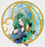 SM Bust:  Sailor Neptune by Bo-Po-Mo-Fo