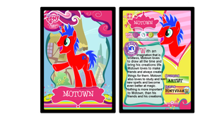 Motown Trading Card by Cookie--Bear