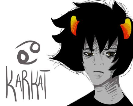 Karkat Doodle by turtlelover523