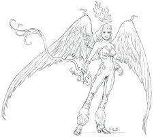 Angelfire by staino
