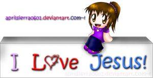 .:I Love Jesus:. by aprilsierra