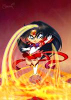 Chibi Sailor Mars by Cookiepoppet