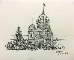 Melbourne's Royal Exhibition Building by poshepocket