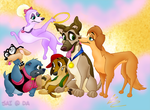 All Dogs Go To Heaven Group by SharpAnimationInc