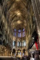 Cathedrale Notre Dame de Paris by AyseSelen