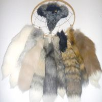 Nine Tailed Dream-Catcher by Tricksters-Taxidermy