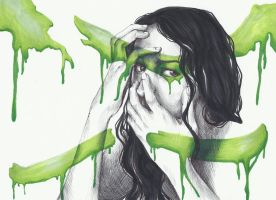 Paint me Green with Envy by Ayashe