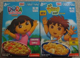 Dora/Diego Cereals by Gamekirby