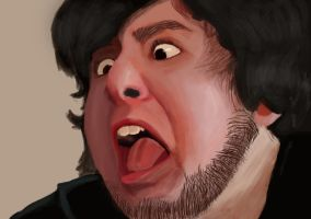 JonTron Digital Painting by greatpein