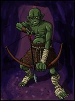 Goblin Archer by Grinning-Oni