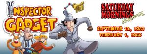 SATURDAY MORNINGS FOREVER: INSPECTOR GADGET by WOLVERINE25TH