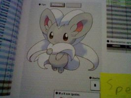 my favourite pokemon of teselia-Cinccino by TailTehEeveelution