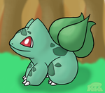 Bulbasaur!~ by Kiki-Bunni