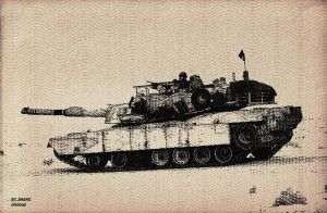 paper work M1A1 by NightRaven1