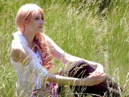Serah - Thinking of you by SoraPaopu