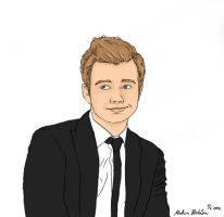 Mr Chris Colfer by CookieIam