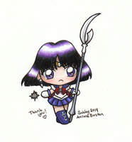 Sailor Moon - Chibi Sailor Saturn by sakkysa